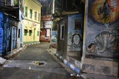 Altes Kolkata nachts Stockfotografie