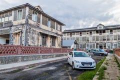 Altes Krankenhaus in St Laurent du Maroni lizenzfreies stockbild
