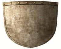Altes Kriegerschild lizenzfreies stockbild