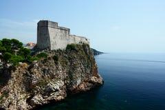 Altes, kroatisches Schloss Stockbilder