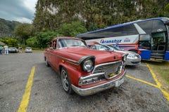 Altes kubanisches Auto Lizenzfreies Stockfoto