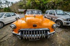 Altes kubanisches Auto Stockbilder