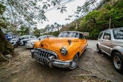 Altes kubanisches Auto Stockbild