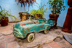 Altes kubanisches Auto Stockfotografie