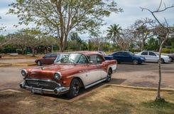 Altes kubanisches Auto Stockfoto