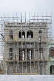 Altes kubanisches Gebäude unter Erneuerung Lizenzfreies Stockbild