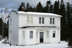 Altes Land-Haus lizenzfreies stockbild