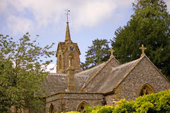 Altes Land-Kirche Stockfoto