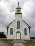 Altes Land-Kirche-Nahaufnahme Lizenzfreies Stockfoto
