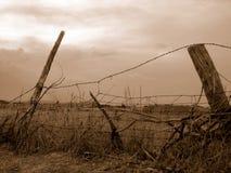 Altes Land-Zaun Lizenzfreies Stockbild