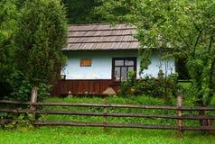Altes landwirtschaftliches Haus Stockfotografie
