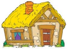 Altes landwirtschaftliches Haus Stockbilder