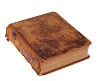 Altes ledernes Bibel-Buch Stockfoto