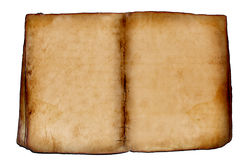 Altes leeres Buch Lizenzfreies Stockbild