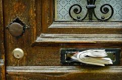 Altes Letterbox Stockfoto