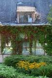 Altes lettisches Haus stockbild
