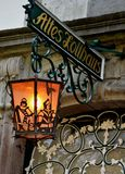 Altes Lollbaus Sconce Stock Photo