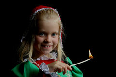 Altes Mädchen Lizenzfreie Stockfotografie