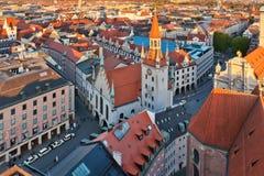 Altes München-Rathaus lizenzfreies stockfoto