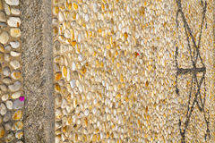 altes Mailand im Ziegelstein der abstrakte Hintergrund Lizenzfreie Stockbilder