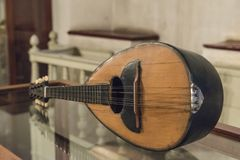 Altes Mandolineninstrument Lizenzfreies Stockfoto