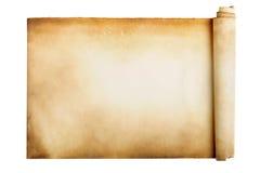 Altes Manuskript lizenzfreie stockfotos