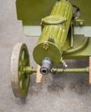 Altes Maschinengewehr Stockbilder