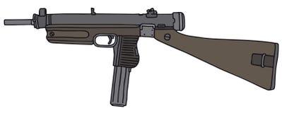 Altes Maschinengewehr Lizenzfreies Stockfoto