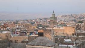 Altes Medina von Fes, Marokko stock video footage