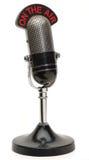 Altes Mikrofon Lizenzfreies Stockbild