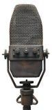 Altes Mikrofon Stockbild