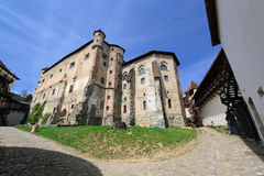 Altes mittelalterliches Schloss II Lizenzfreie Stockfotos