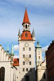 altes Monachium rathaus Zdjęcie Royalty Free