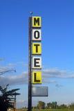 Altes Motelzeichen Lizenzfreie Stockbilder