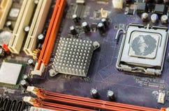 Altes Motherboard für den ganzen Rahmen Lizenzfreies Stockbild