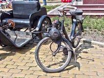 Altes Motorrad Stockbilder