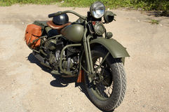 Altes Motorrad Stockfoto