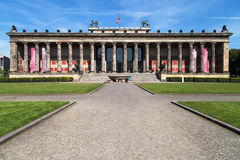 Altes museum Royaltyfri Foto