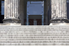 Altes museum. In Berlin. Architectural columns royalty free stock image