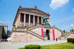 Altes Museum. Berlin, Germany Stock Image