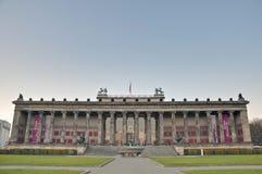 Altes museum (gammalt museum) på Berlin, Tyskland Arkivfoto