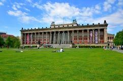 Altes museum (gammalt museum) som lokaliseras på museumön Arkivfoton