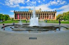 Altes museum (gammalt museum) som lokaliseras på museumön Arkivfoto