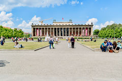 Altes Museum. German Old Museum in Berlin on sunny day. Stock Photo