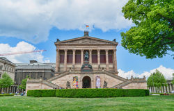 Altes Museum. German Old Museum in Berlin on sunny day. Royalty Free Stock Photography