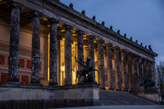 Altes Museum, German Old Museum on Museum Island, Mitte, Berlin. Germany royalty free stock photography