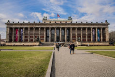 Altes Museum, German Old Museum on Museum Island, Mitte, Berlin. Germany stock photos