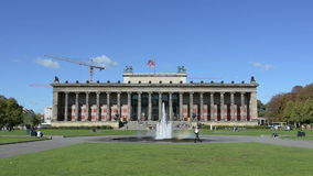 The Altes Museum stock video