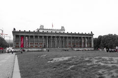 The Altes Museum at Museum Island in Berlin stock photo