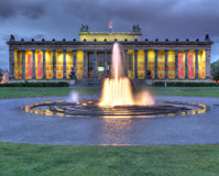Altes Museum At Night Royalty Free Stock Photography